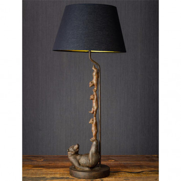 Lampe famille ours acrobates 81x20 cm