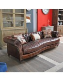 Canapé CHESTERFIELD british DIALMA BROWN