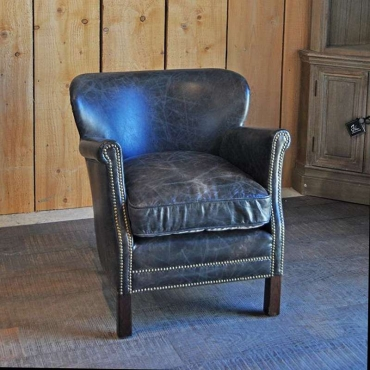 Fauteuil cuir TURNER Chehoma Camden