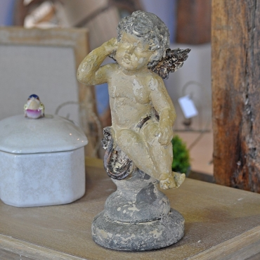 STATUETTE ANGE ASSIS