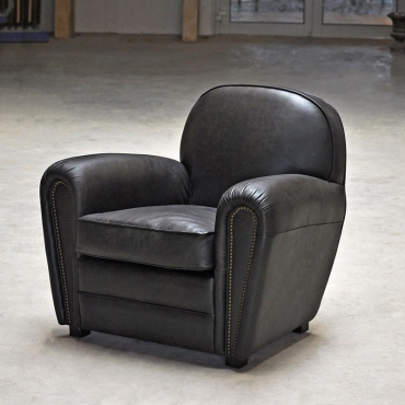 FAUTEUIL CLUB MOUNTAIN BLACK