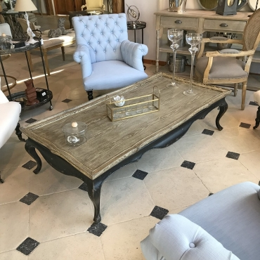 Table basse Regency 160x41x80cm