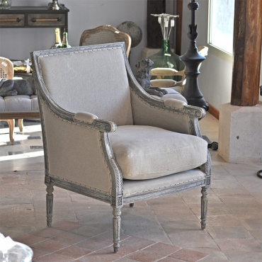FAUTEUIL VOLTAIRE LIN