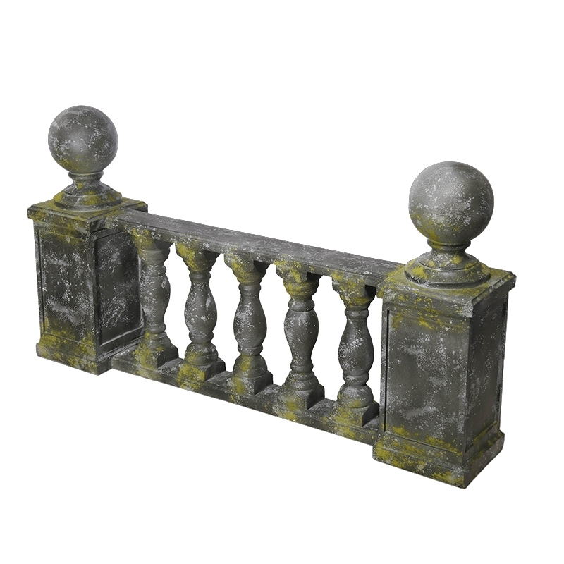 balustrade de jardin r sine patin vert 143x26x78 cm. Black Bedroom Furniture Sets. Home Design Ideas