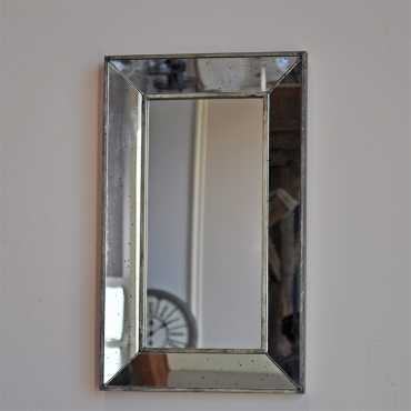 Miroir antique rectangulaire 30x50cm