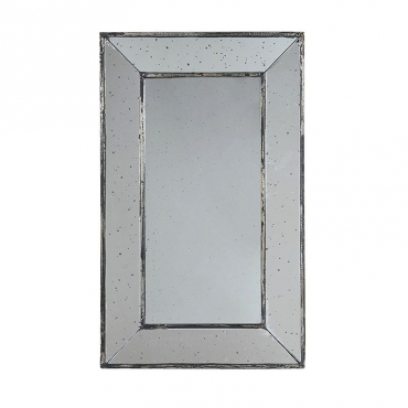 Miroir antique rectangulaire