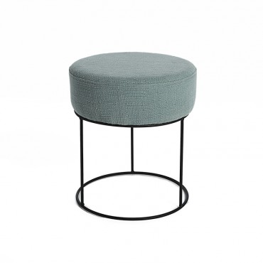 Pouf design contemporain 40x35x35 cm