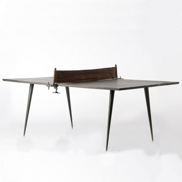 Table à manger Ping-pong avec filet 75x115x207 cm