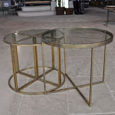 Table appoint Eluminea 62x54cm