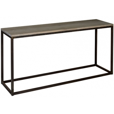 CONSOLE CHENE CONTEMPORAINE