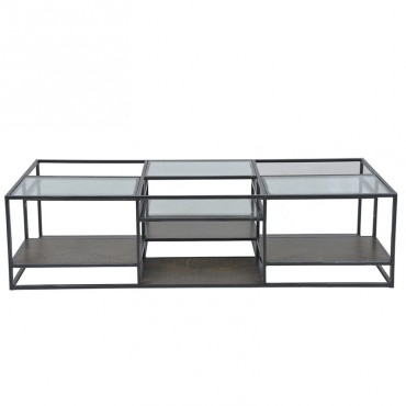 Table basse Verre 160x40x80cm
